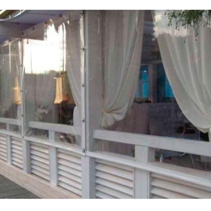 Мягкие ПВХ окна для кафе и ресторанов